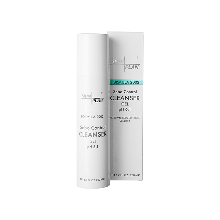 SkinPlan Sebo Control Cleanser Gel pH 6,1